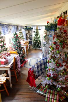 Cottage Christmas Trees